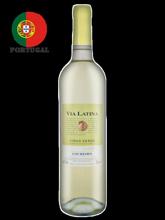 葡萄牙 薇亞菈緹 洛雷羅綠酒(白酒) Via Latina Loureiro 1
