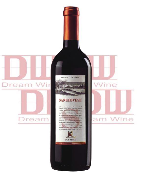義大利 朵媞琍經典紅酒 Due Tigli  Sangiovese del Rubicone IGT 1