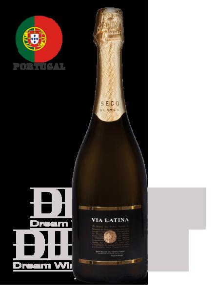 葡萄牙 薇亞菈緹 微甜白氣泡酒 Via Latina  Espumante Seco Branco 1