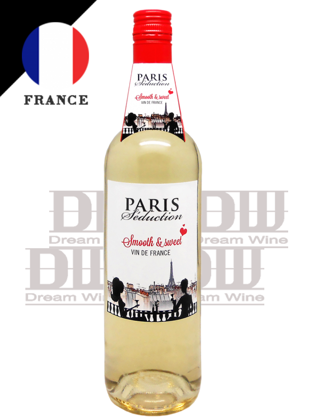 法國 巴黎情人 誘惑甜白酒 Paris Seduction Sweet White 1