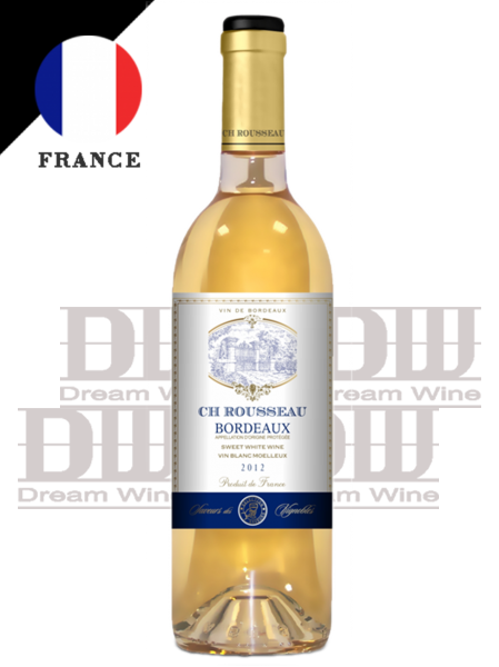 法國波爾多 湖爍堡甜白酒 Ch. Rousseau Bordeaux Sweet White Wine 1