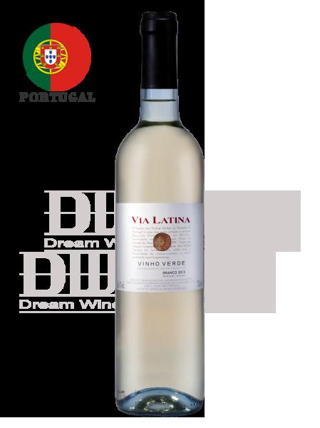 葡萄牙 薇亞菈緹 特選綠酒(白酒) Via Latina Branco 1